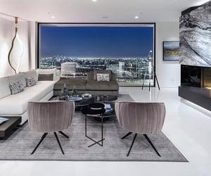 living room, luxury, and wine cellar image