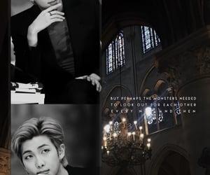 aesthetic, kimnamjoon, and dark image
