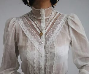 Vintage Ivory Jessica's Gunnies Puff Sleeve Blouse | Lady L. Vintage Co.