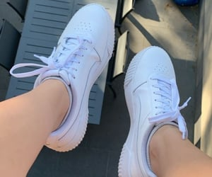 new, shoes, and white image