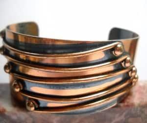 etsy, boho hippie, and modernist bracelet image