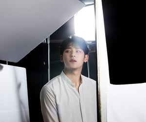 Seventeen, kim mingyu, and visual line image