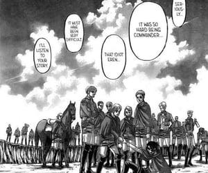 manga, petra, and erwin smith image