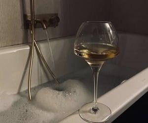bath, drink, and luxury image