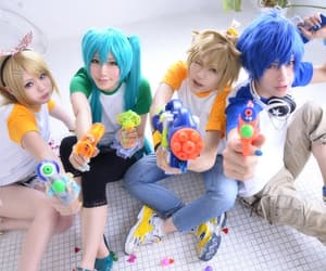 cosplay, miku, and vocaloid image