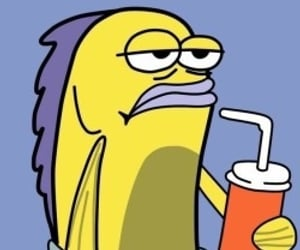 spongebob, cartoon, and meme image