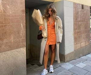 everyday look, cute summer outfit, and white sneakers shoes image