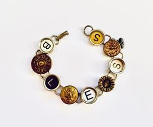 costume jewelry, etsy, and typewriter keys image