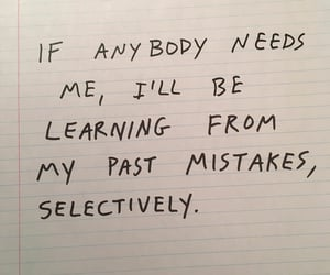 handwriting, learning, and mistakes image