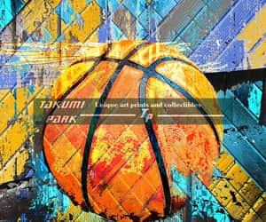 etsy, urban art, and basketball photo image