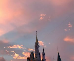 castle, wallpaper, and disney image