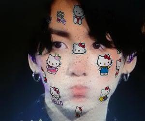 hello kitty, bangtan, and minyoong image
