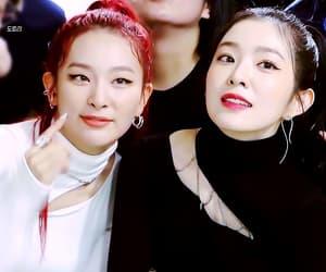 gif, kpop, and red velvet irene & seulgi image