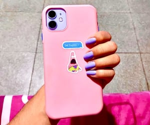 case, morado, and nails image
