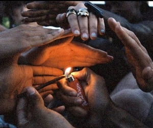 smoke, smokers, and friends image