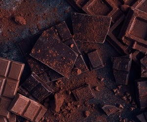 aesthetic, bark, and chocolate image