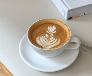 art, cafe, and coffee image