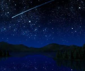 shooting star and stars image