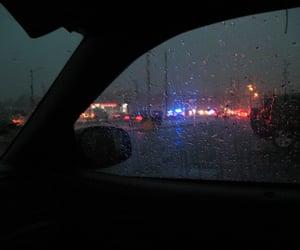 rain, car, and grunge image