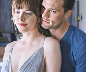 amor, dakota johnson, and anastasia steele image