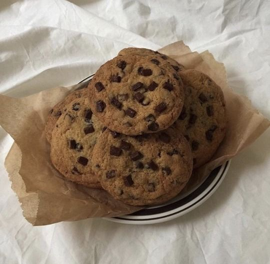 food, aesthetic, and Cookies image