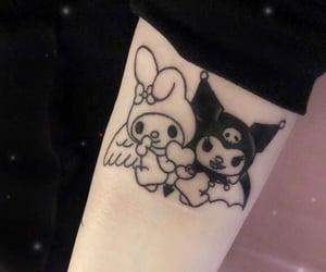 kuromi and tattoo image