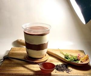choco, milk tea, and natural image