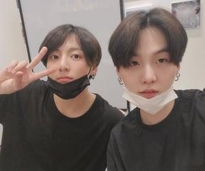 selca, jk, and yoongi image