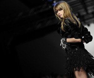 model, Abbey Lee Kershaw, and fashion image