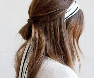 hair, peinado, and pelo image