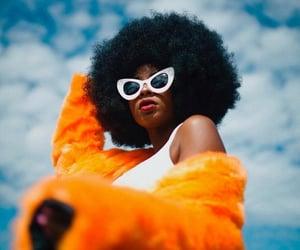 aesthetic, melanin, and Afro image