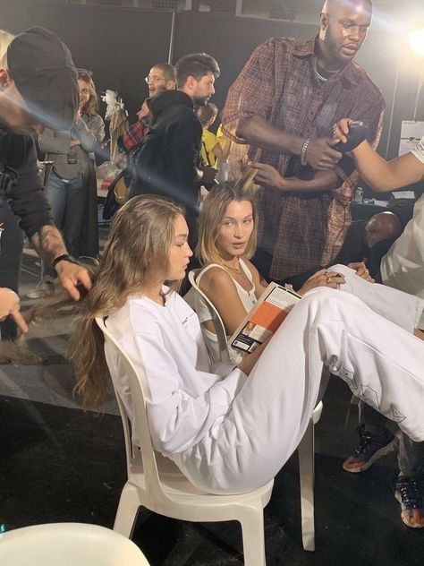 bella hadid, gigi hadid, and model image