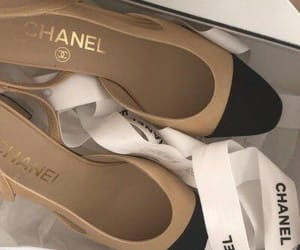 shoes, chanel, and beige image