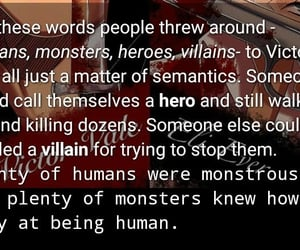 being, monstruos, and villain image