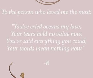 ex, sad, and tears image