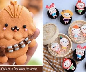Cookies, funny, and macaron cookies image