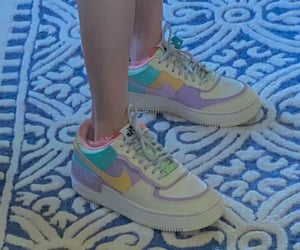 air force, sneakers, and yellow image