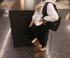 fashion, hoodie, and white image