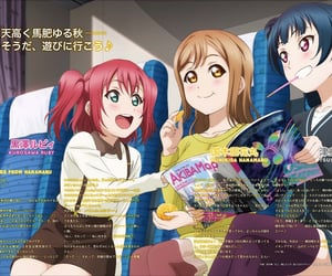 anime, love live, and love live scans image