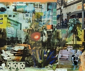 art, berlin, and Collage image