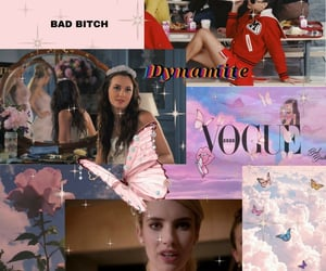 sassy, screamqueens, and glee image