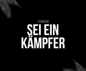 deutsch, zitat, and kämpfen image