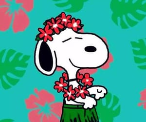 colores, snoopy, and flores image