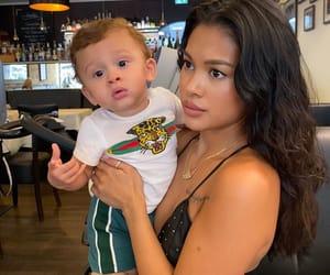 model, aeko brown, and baby boy image