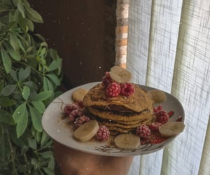 healthy, pancakes, and foodporn image