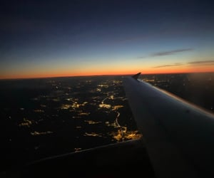 breathtaking, lights, and sunset image