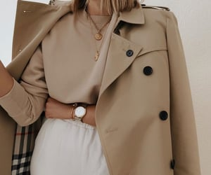 Burberry, coat, and fashion image