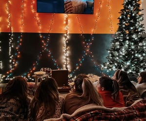 Christmas time, date, and movie image