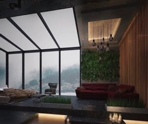 architecture, Dream, and forest image