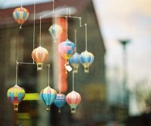 beautiful, hipster, and hot air balloon image